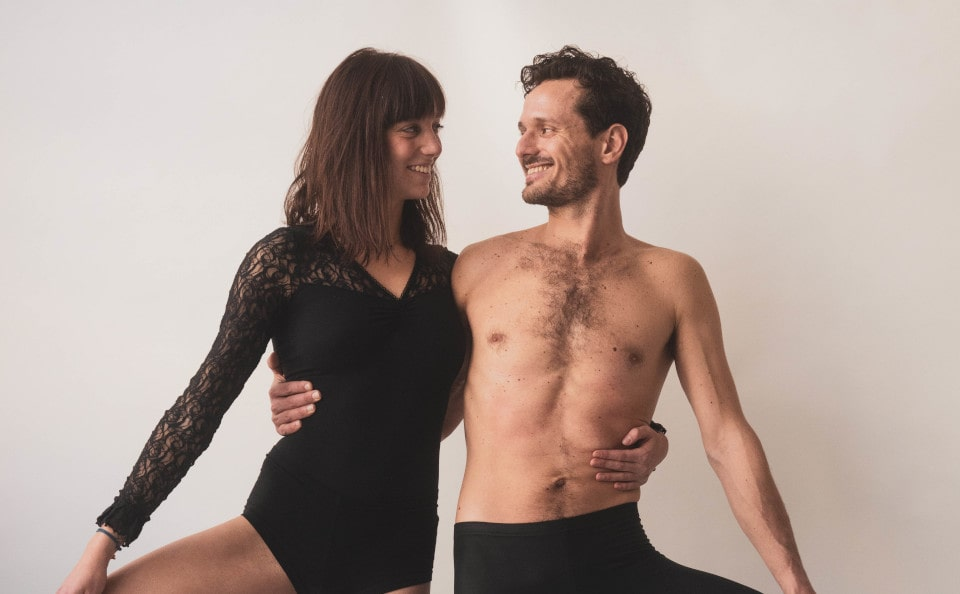 Sharanam Yoga Project - Charlotte and Ludovic