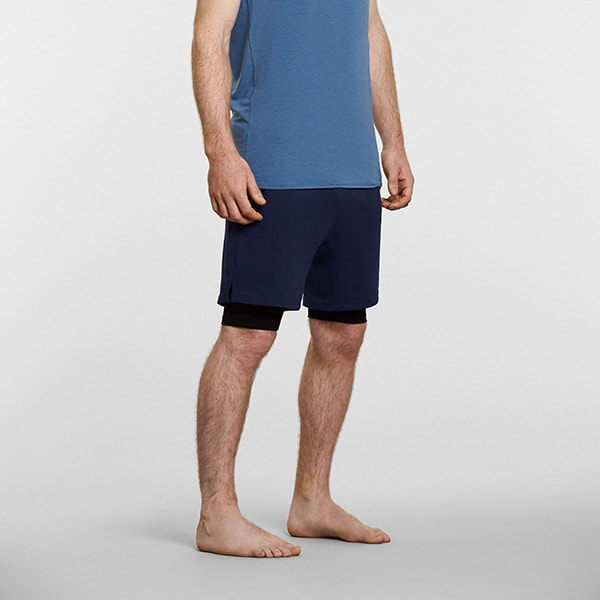Men's Anti-Gravity Yoga Shorts - Front View