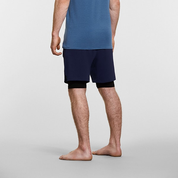 Men's Anti-Gravity Yoga Shorts - Reverse View