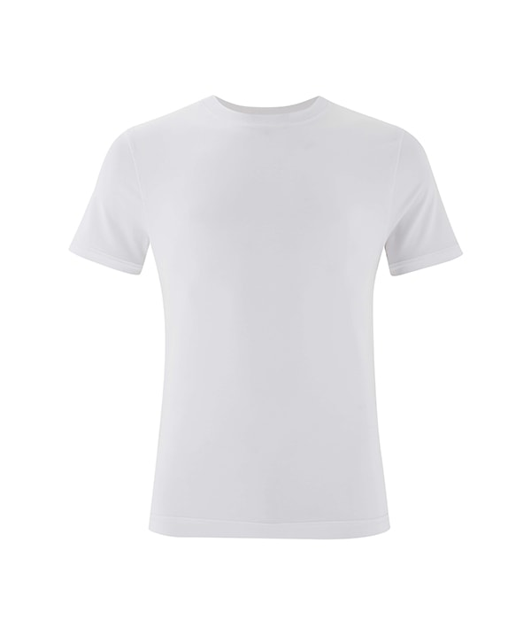 Men's Yoga Performance White T-Shirt