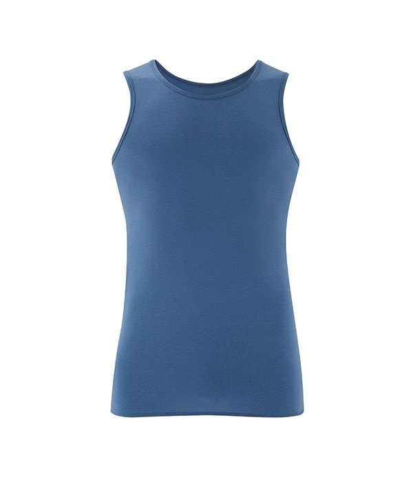 Men's Yoga Performance Tank Top Blue