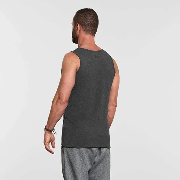 Men's Yoga Performance Tank Top Gray - Reverse