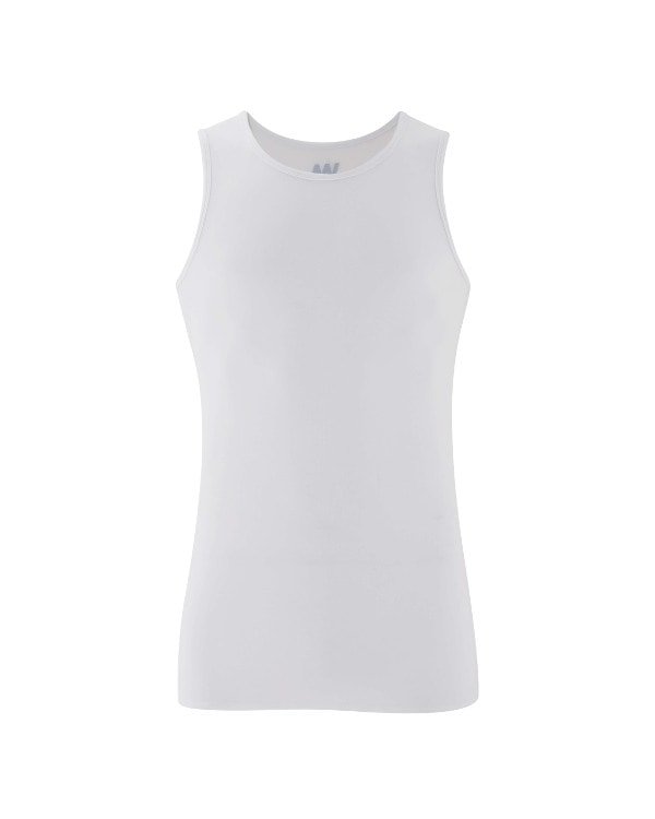 Men's Yoga Performance Tank Top White