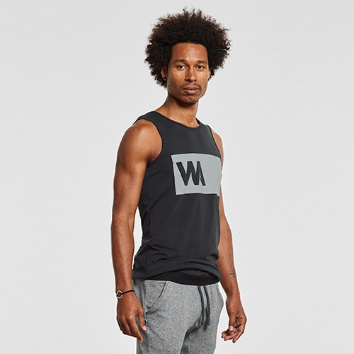 Warrior Addict Inversion Tank Top - Side View