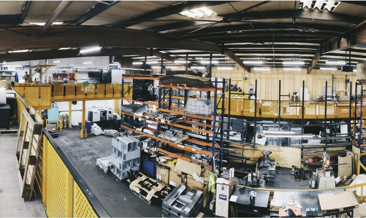 Our warehouse and machinery