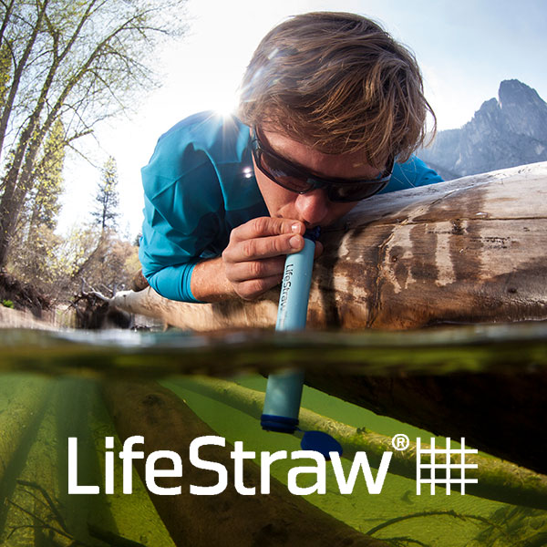 LifeStraw personal water filtration