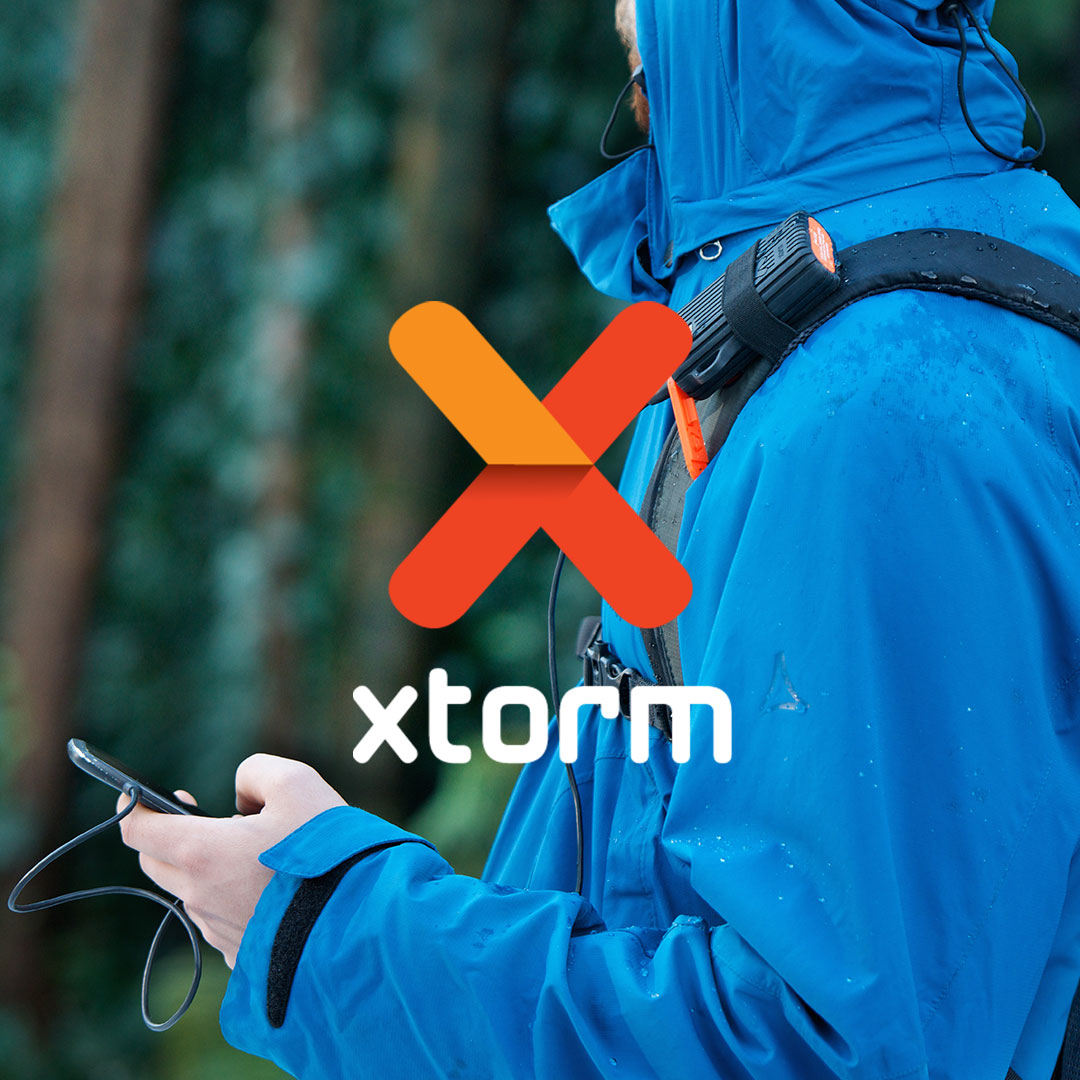 Xtorm power banks and solar chargers