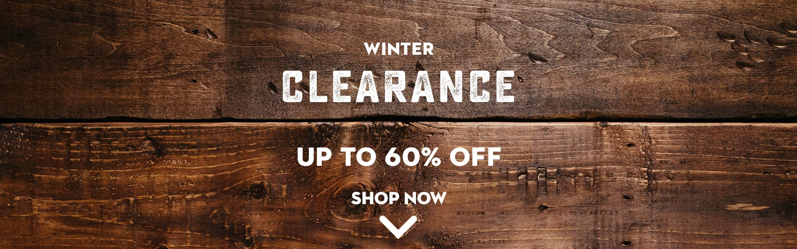 Winter Clearance on WildBounds