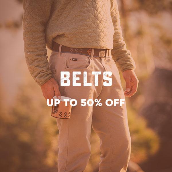 Belts clearance