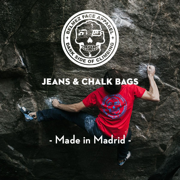 BelmezFace jeans and chalk buckets - Local manufacturing - Made in Madrid - Made in Europe