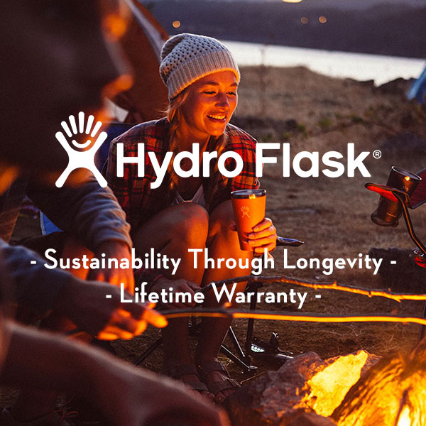 Hydro Flask - Sustainable water bottles - Sustainability Through longevity - Lifetime Warranty