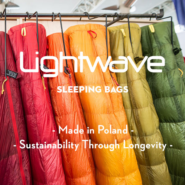 Lightwave Sleeping Bags - Local manufacturing - Made in Poland - Made in Europe