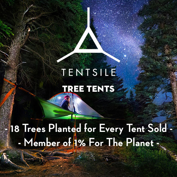Tentsile Tree Tents - Sustainable tents and hammocks - Eco-Friendly tents and hammocks - 18 Trees planted for every tent sold