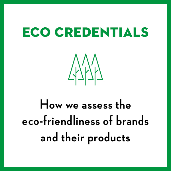 Eco Credentials - Assessing brands eco-friendliess