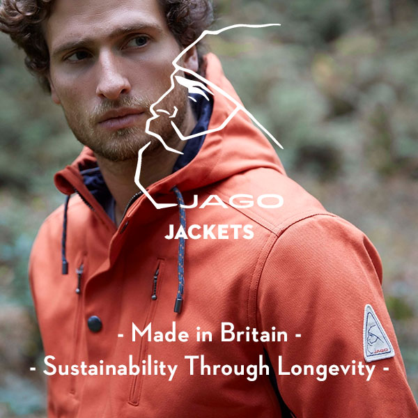 Jago Jackets - Sustainability Through Longevity - Local manufacturing - Locally-sourced materials - Made in Britain - Made in England