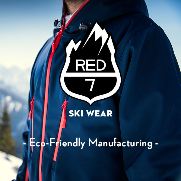 Red7SkiWear - Eco-friendly manufacturing