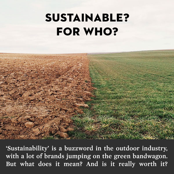 Sustainability? For Who?