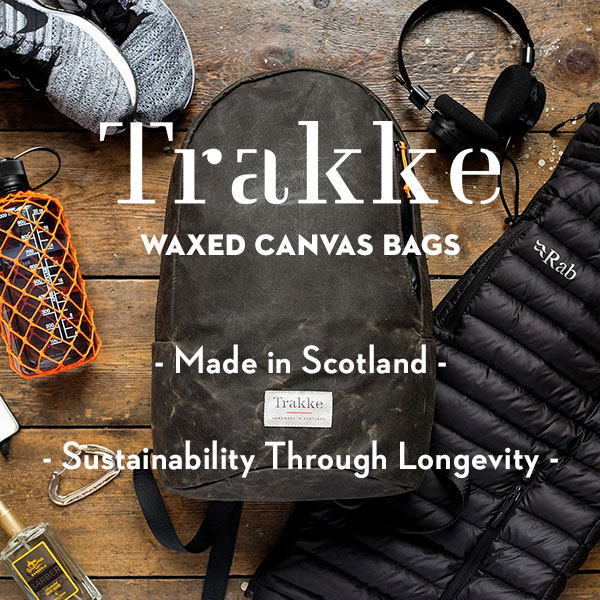 Trakke - Waxed Canvas Bags - Made in Scotland - Sustainable bags - Eco-Friendly bags
