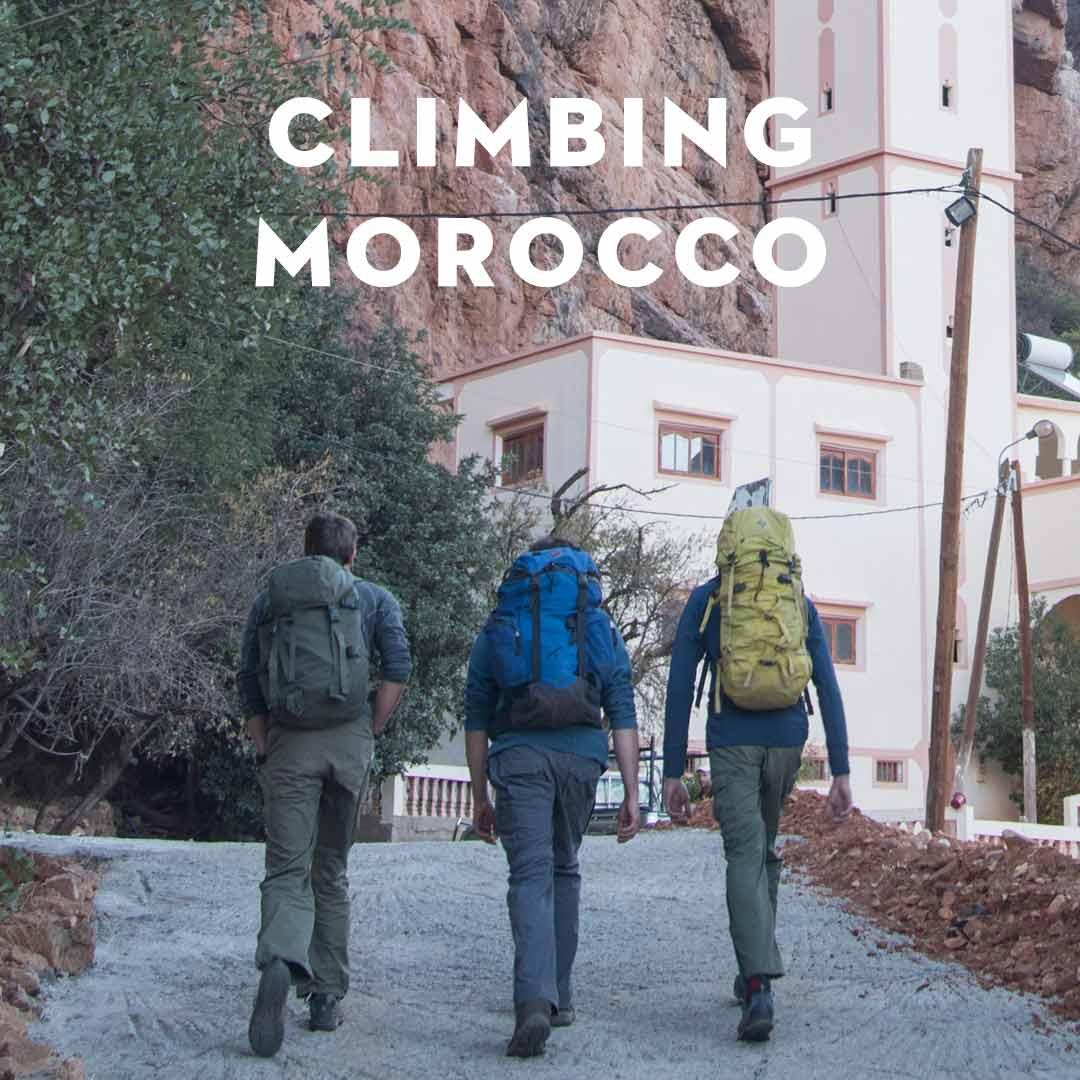 Climbing Morocco
