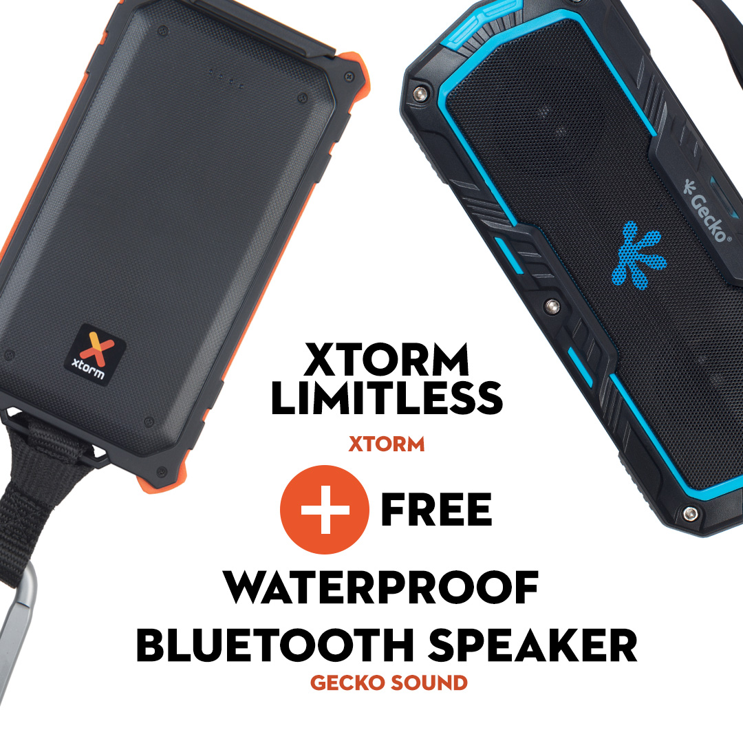 Xtorm and Bluetooth Speaker Deal