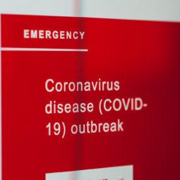 Canva Coronavirus News on Screen