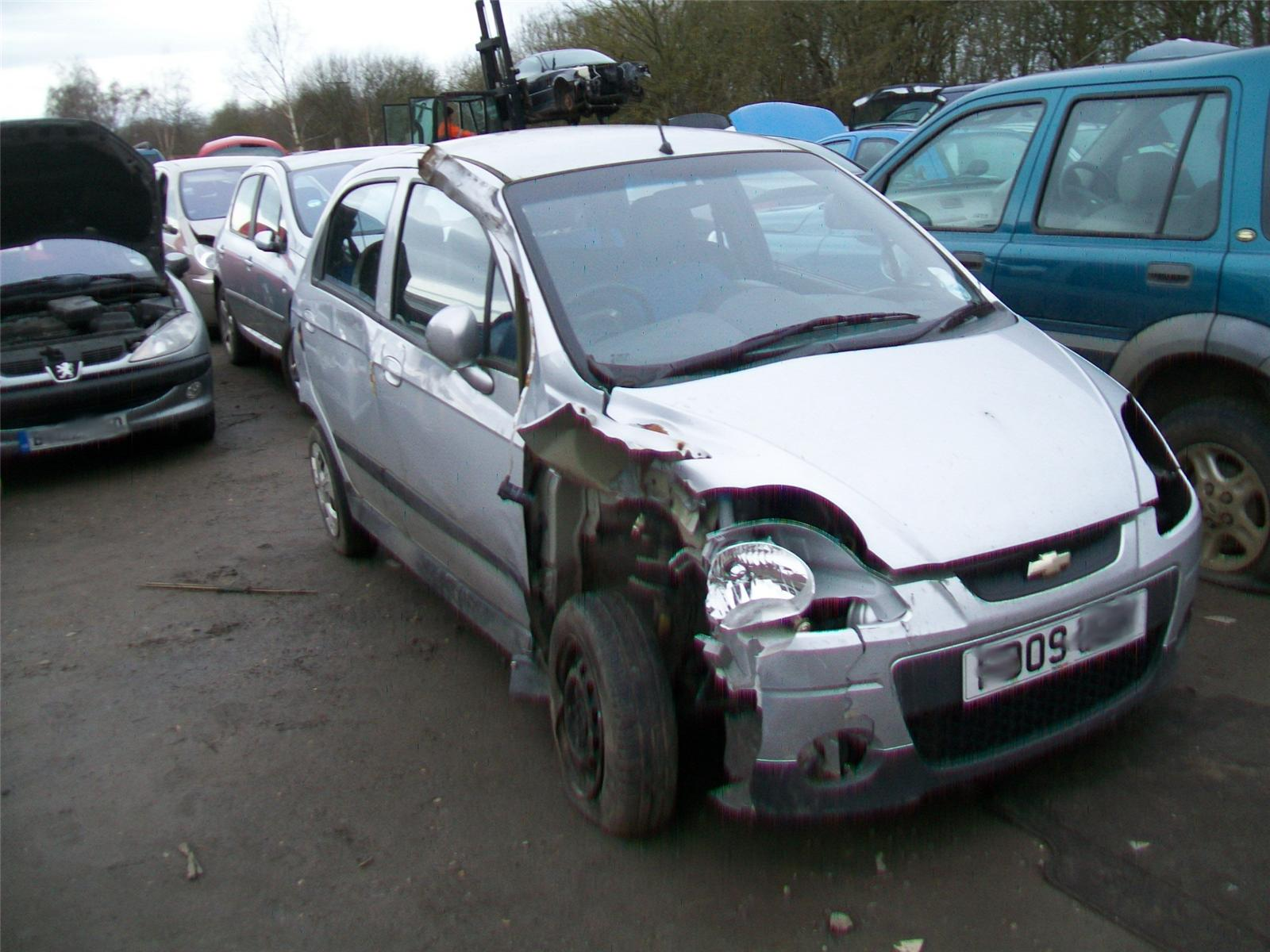 Chevrolet Matiz Se Breaking Vehicles At Windleys Salvage Ltd 2009 Manual 100 0777