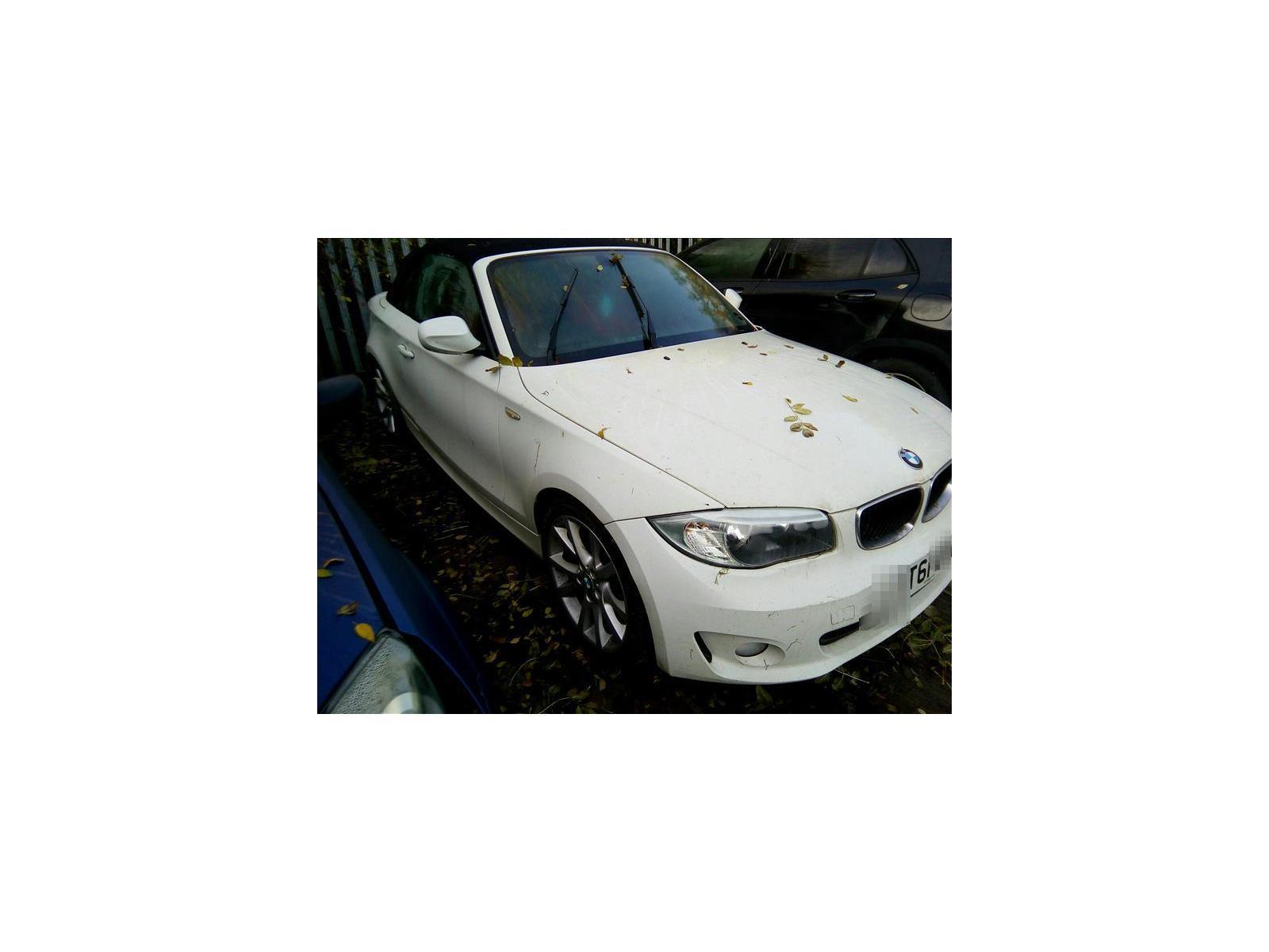 BMW 1 SERIES  YT61CUG