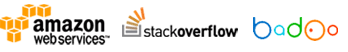 Amazon Web Services, Stackoverflow, Badoo