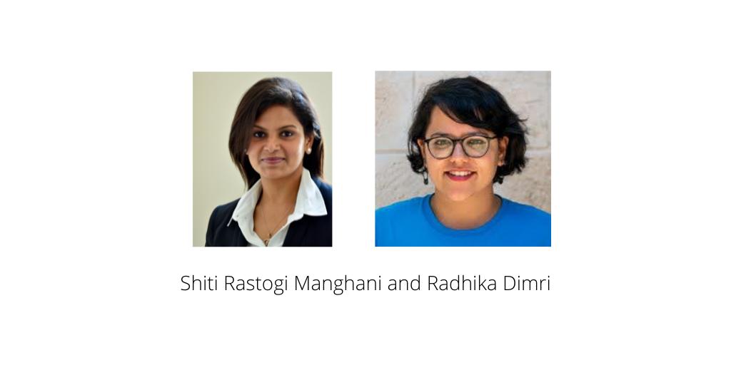 Shiti and Radhika