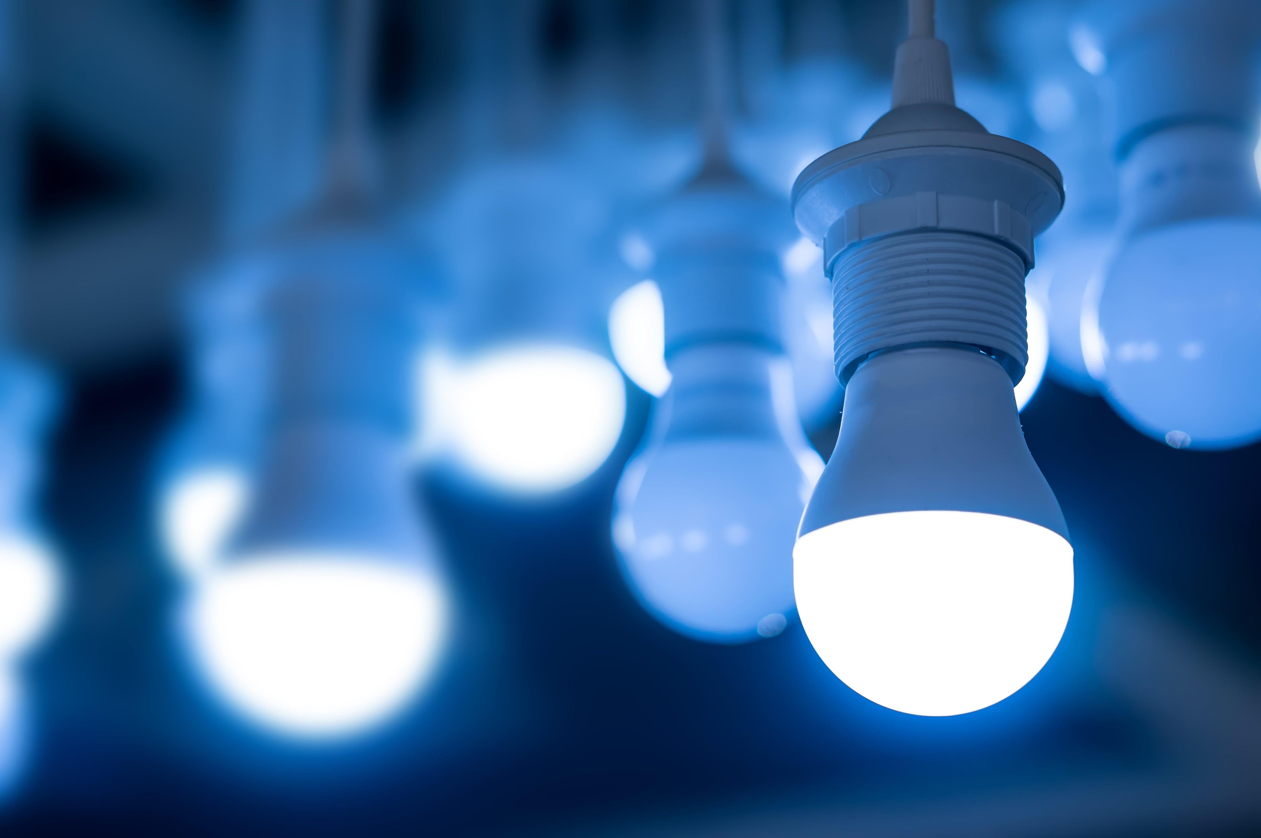 Lampadine led a risparmio energetico