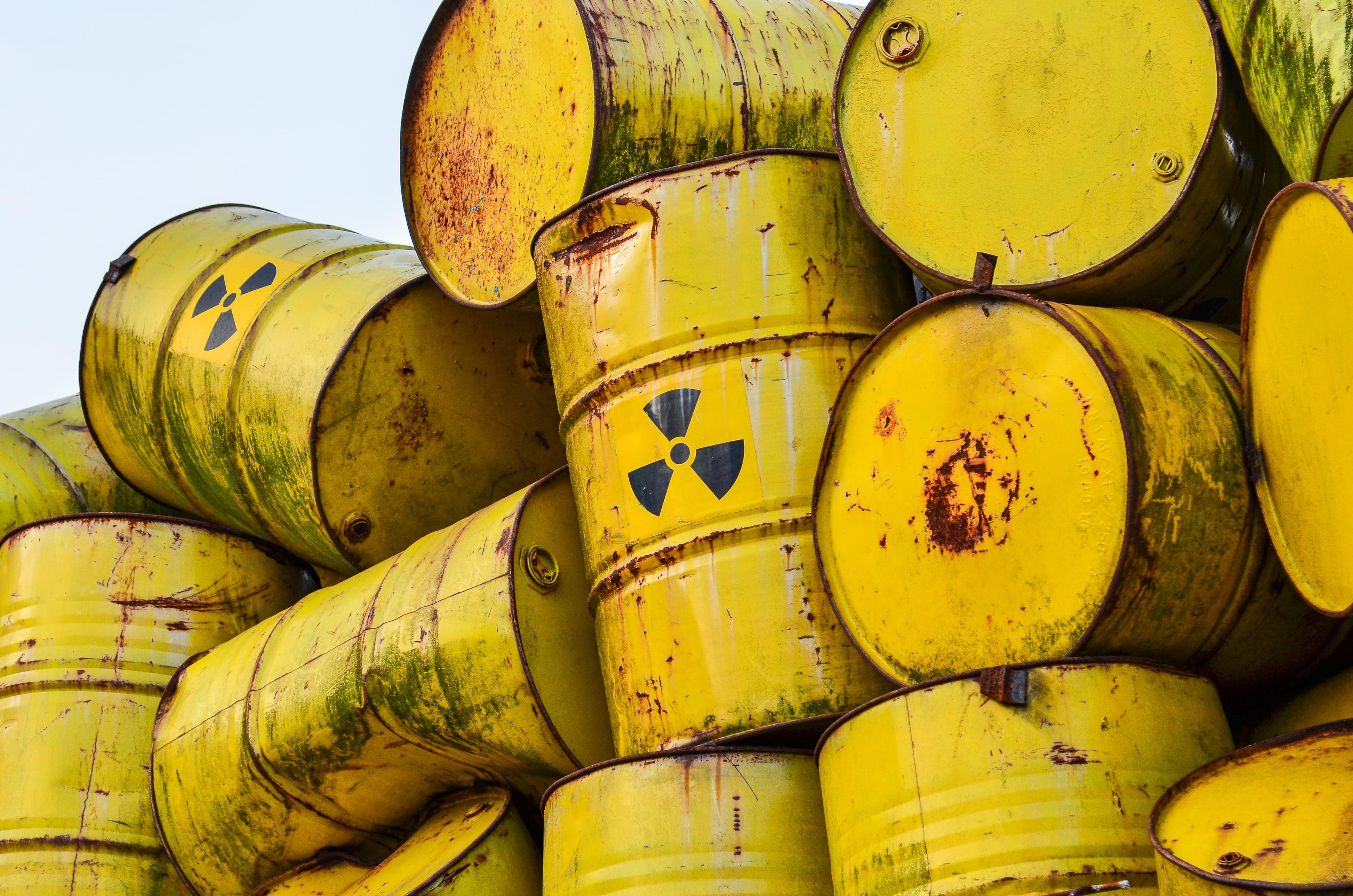 Rifiuti radioattivi nella capitale: gli ultimi dati allarmanti