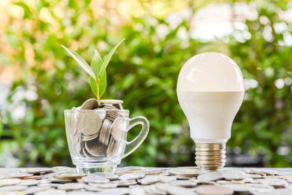 Lampade led a risparmio energetico e basso consumo