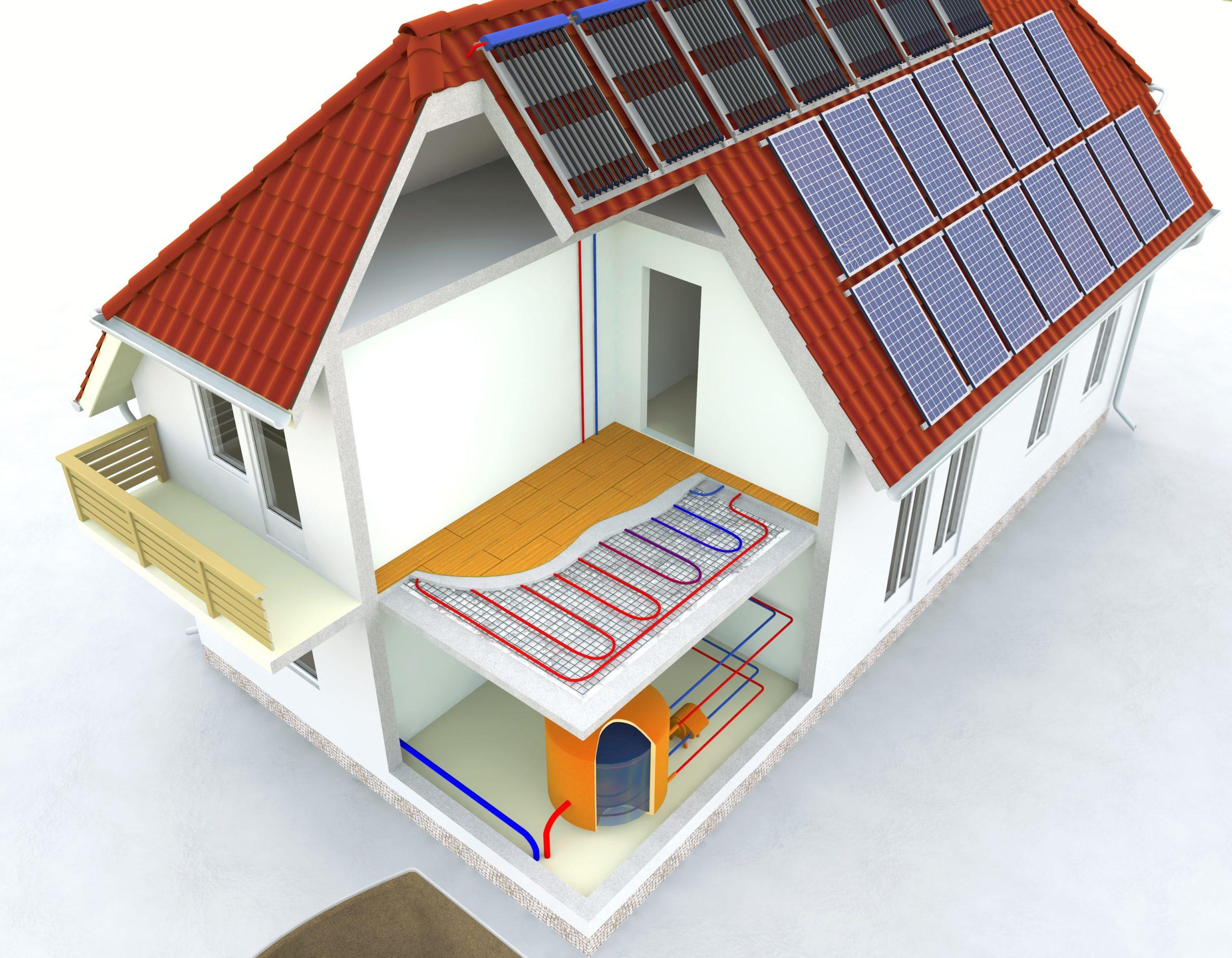 Sistema solar cooling