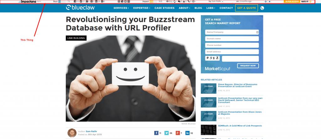 Buzzstream URL Profiler Happy Database Blueclaw