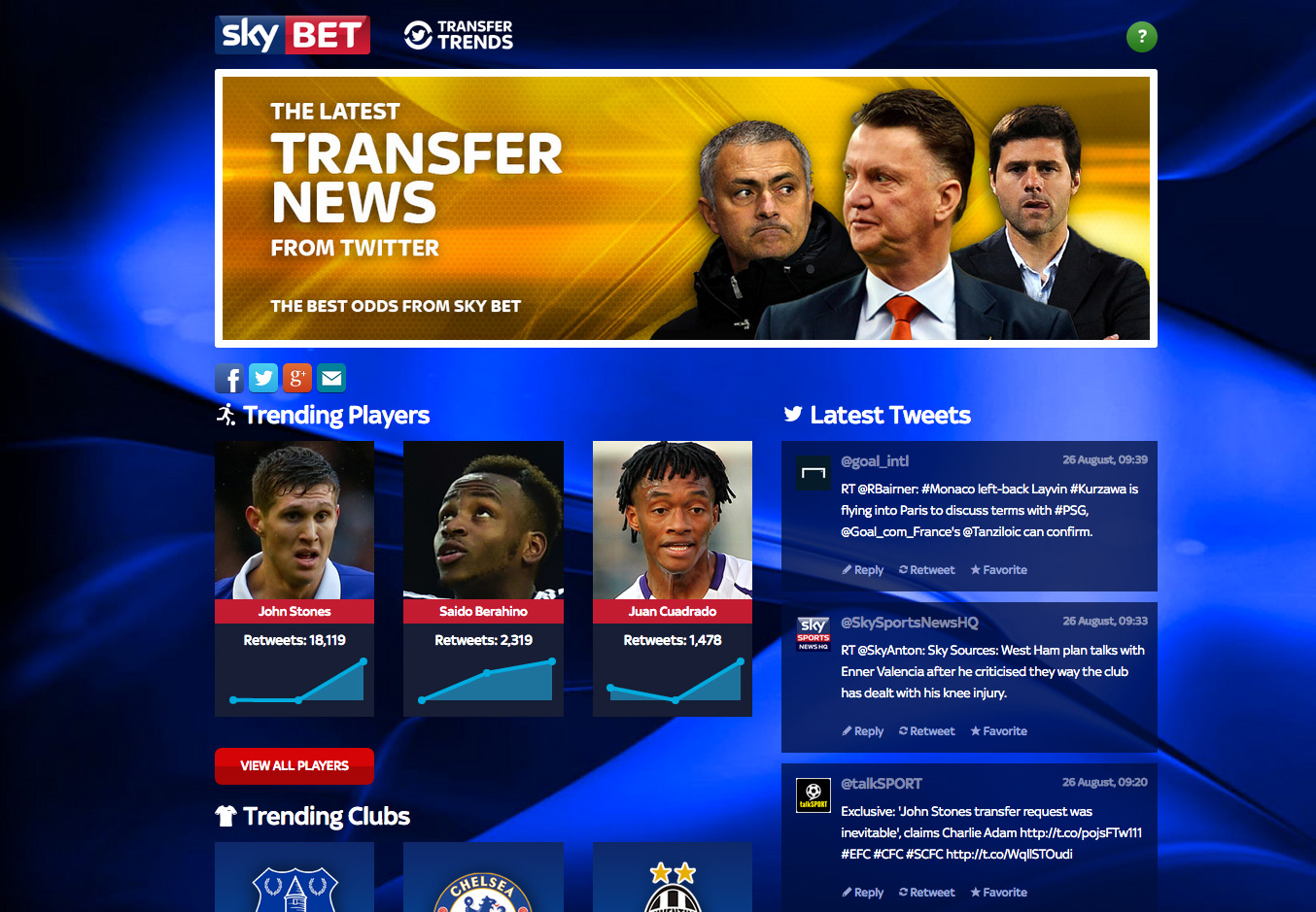 skybet-transfer-trends