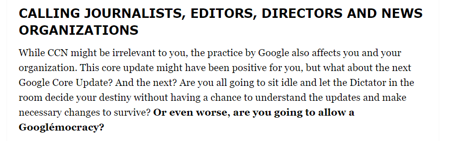Calling Journalists Editors Directors And News Organisations 20190618173029