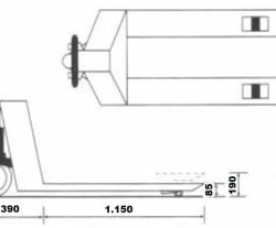 PORTA-PALETES 4.000KG 1150x540 ND