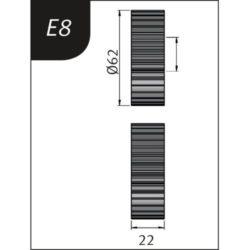 REBORDEADORA SBM 300-40E METALLKRAFT