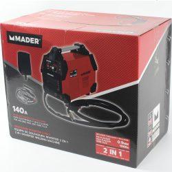 SOLDADOR INVERTER 2 EM 1 MMA MIG/MAG 140A MADER