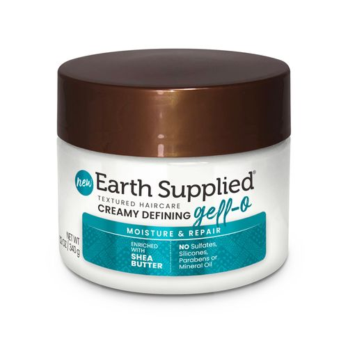 Earth Supplied Creamy Defining Gell-O with Shea Butter 12oz