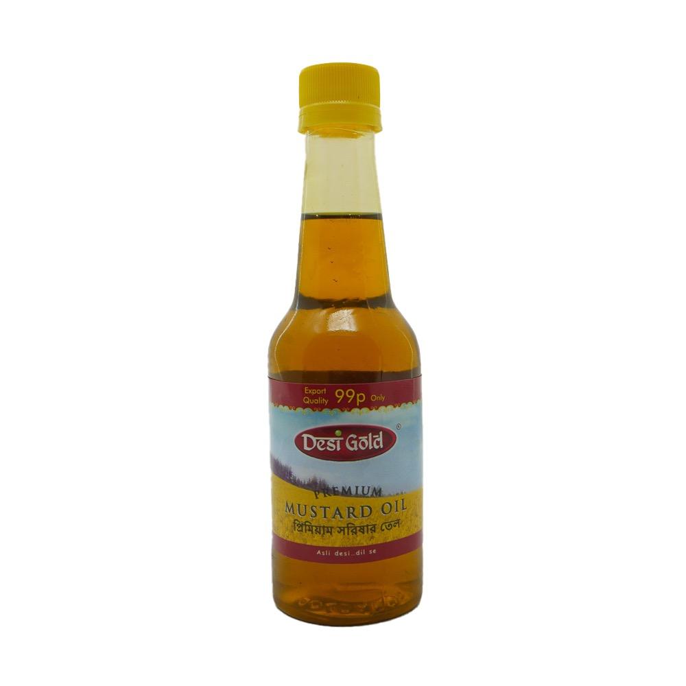 Desi Mustard Oil 200ml - £0.99