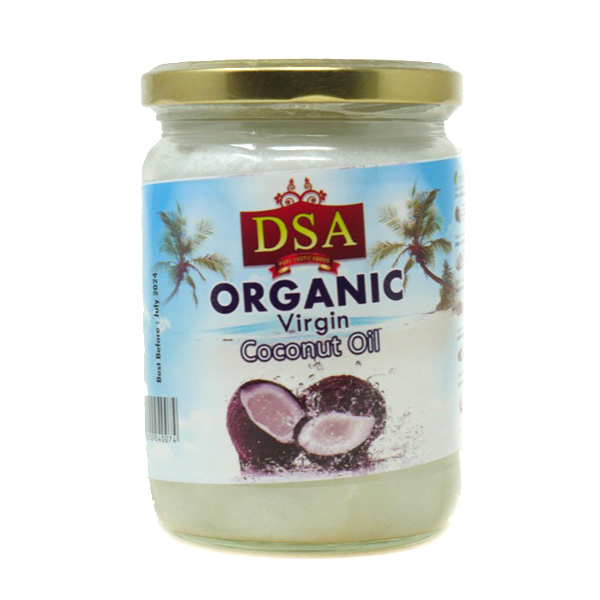 Dsa Organic Coconut Oil 500ml - £4.99