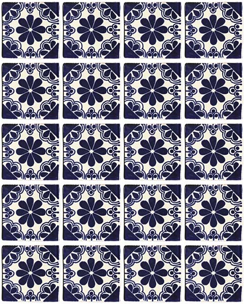 Isabel hand made wall tiles