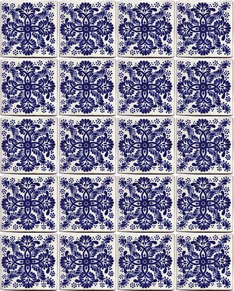 Veronica Mexican wall tiles