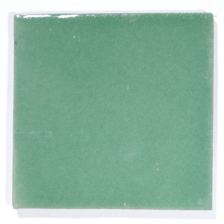 Frog green hand made tiles
