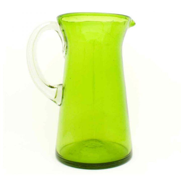 lime green lechero jug