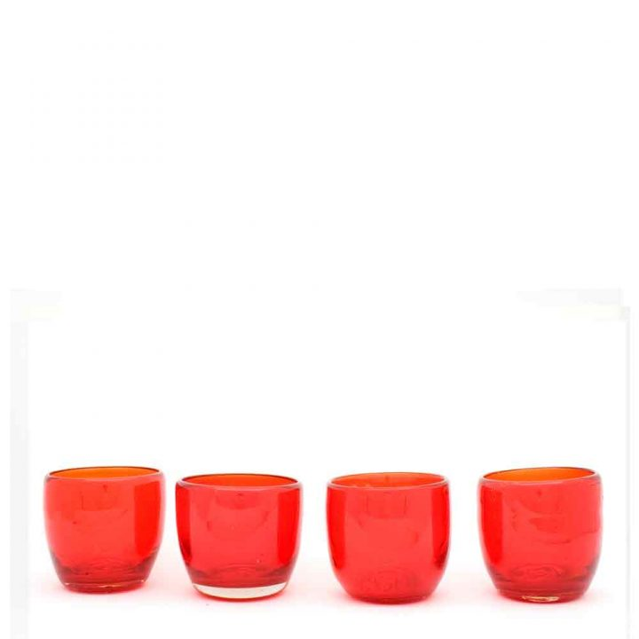 orange night lights hand made in mexico