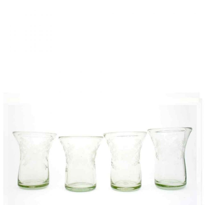 engraved recycled glassware