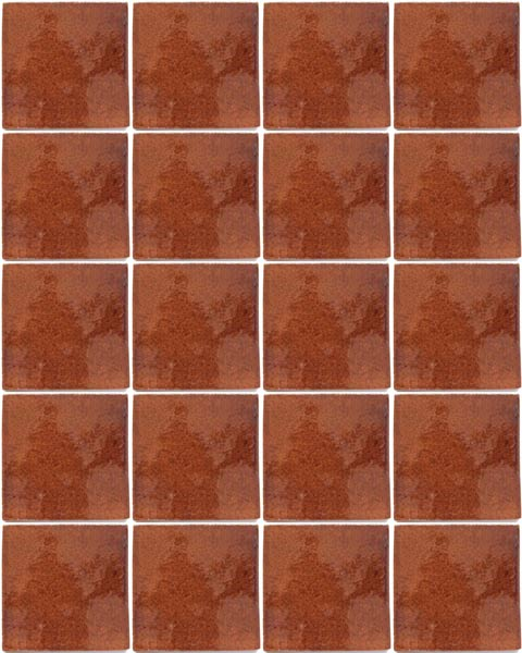 chocolate hand made wall tiles