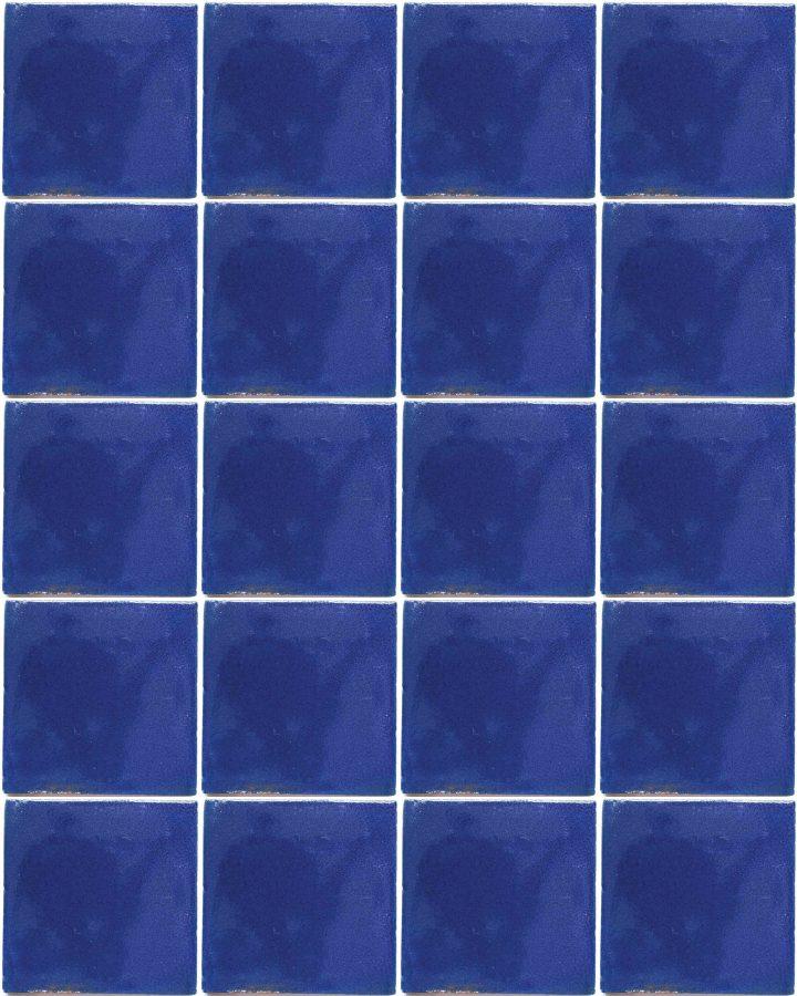 cobalt blue hand made tiles